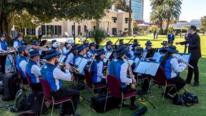 Unley Concert Band at Government House